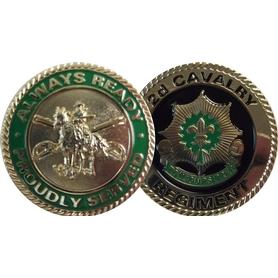 2d Cavalry Regiment Coin